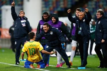 Los Brasileños vencieron a Hungría sobre el final