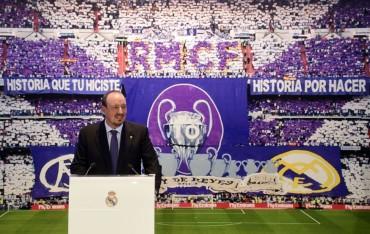 Real Madrid presentó Rafa Benítez como su nuevo director técnico