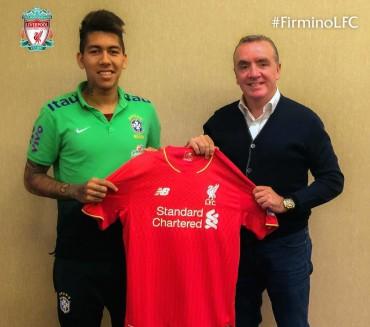 Firmino, nueva contratación de lujo en Liverpool