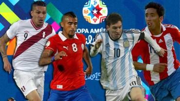 Semifinales sorpresa en Copa América