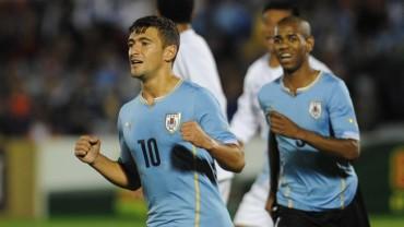 Uruguay aplasto a Guatemala en amistoso en Montevideo