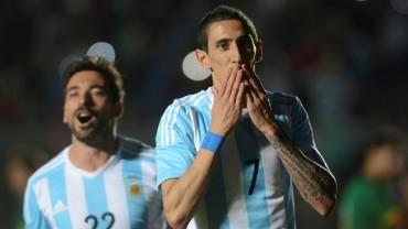 Argentina goleó a su similar de Bolivia en amistoso