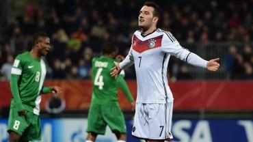 Alemania se impone a Nigeria y esta en cuartos de final