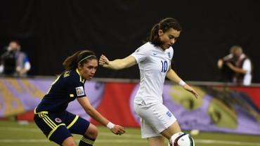 Colombia tropieza con Inglaterra en Mundial Femenino