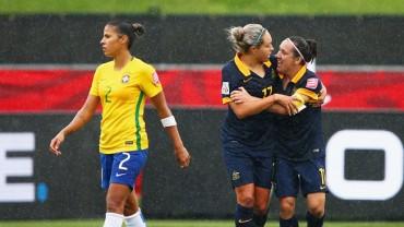 Australia manda a Brasil a casa