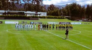 Sub-17 de Honduras empata ante Ecuador en la Copa Mitad del Mundo