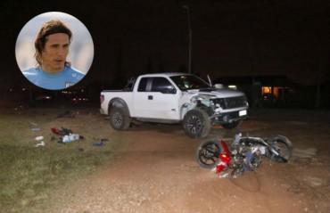 Detienen al padre de Cavani por supuesta implicación en un accidente