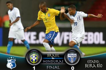En una digna participación Honduras pierde ante Brasil