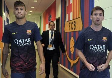 """Messi: """"Neymar es un amigo, lo siento por él"""""""