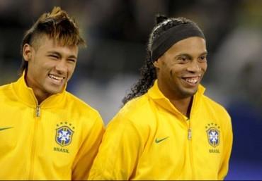 "Ronaldinho: ""Neymar hará historia en el Barcelona"""