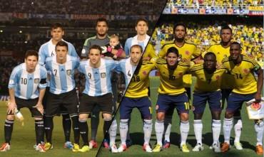 Argentina-Colombia a un explosivo choque