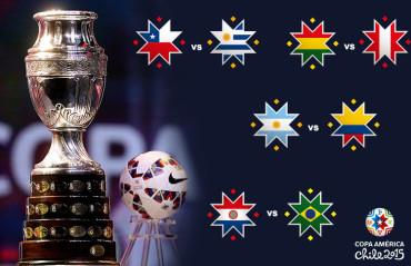 Listos los Cuartos de Final de la Copa América 2015