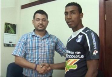 Arquero Beliceño firmo con el Honduras Progreso