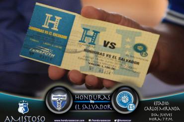 La Sub-23 de Honduras, medirá fuerzas hoy a su similar de El Salvador