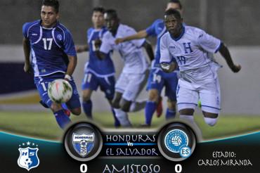 """La """"H"""" Sub-23 empatan en su primer partido de preparación ante El Salvador"""