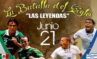 Leyendas Hondureñas y Mexicanas jugaran partido amistoso en Nueva Orleans