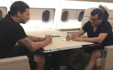 Ibrahimovic podría irse a Catar en 2016