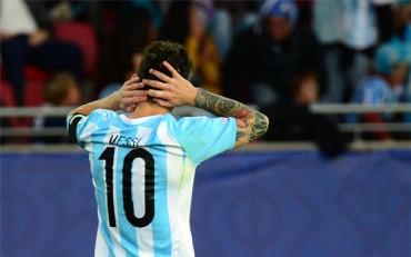 Leo Messi, a punto de cumplir 100 partidos con Argentina