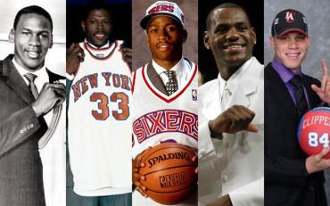 Los cinco grandes Draft de la historia de la NBA