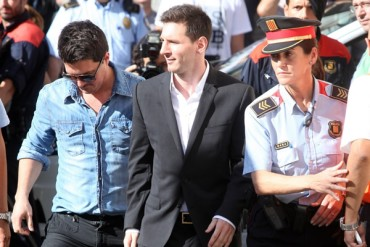 Messi sigue imputado por presunto fraude fiscal
