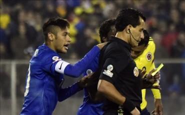 Conmebol, sanciona a Neymar con 2 partidos y luego le quita 1