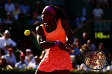 Serena está en Final de Roland Garros
