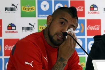 'Les fallé a todos', reconoció Arturo Vidal
