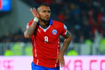 El 'Rey' Arturo coronó victoria de Chile