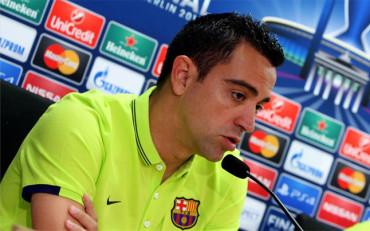 """Xavi: """"Es mi última final con el Barça y la quiero ganar"""""""