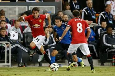 San José Earthquakes no pudo ante el Manchester United