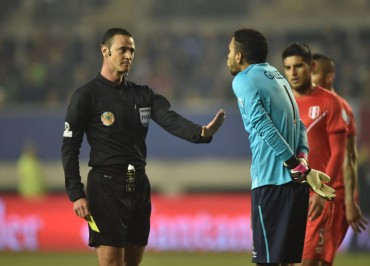 Wilmar Roldán será el árbitro en la final de Copa América