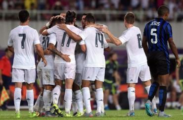 El Real Madrid pasa por encima de un débil Inter de Milán