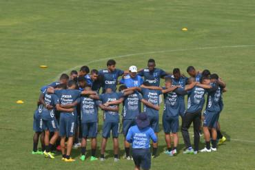 Preparación de la Selección de Honduras Sub-23 en Imagen