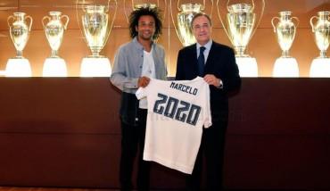 Oficial: Marcelo renueva con el Real Madrid cinco temporadas