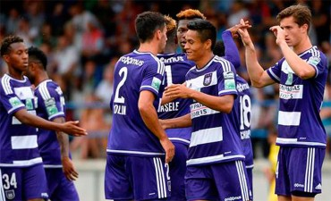 Andy Najar inició de forma positiva pretemporada con el Anderlecht