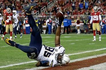 Antonio Gates, suspendido cuatro juegos por la NFL
