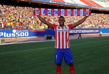 Jackson Martínez fue presentado con el Atlético