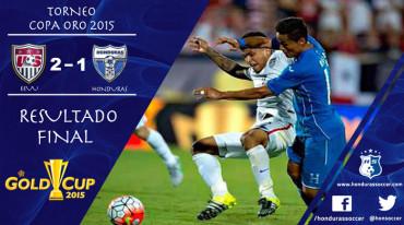 La Selección de Honduras sin merecer pierde ante los EEUU
