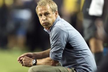 Fantasma del fracaso, al acecho de Klinsman