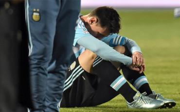 El 'selfie' más desgarrador de Leo Messi