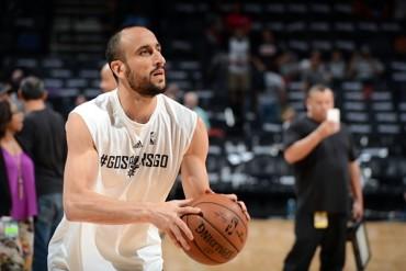 Manu Ginóbili, un año más con los Spurs