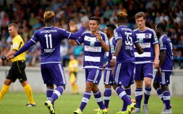 Anderlech y Najar arrancaron con pie de derecho la nueva temporada de Liga