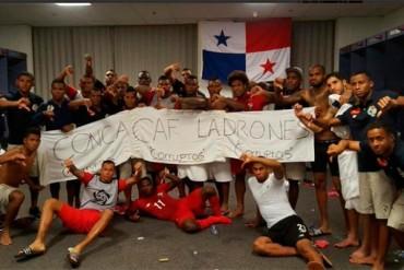 """Jugadores de Panamá llaman """"ladrones corruptos"""" a la Concacaf"""