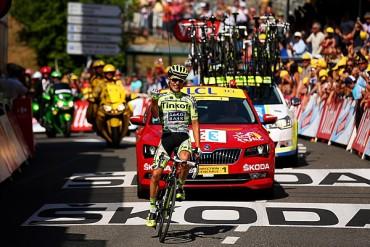 Majka se llevó la 11va etapa del Tour de France