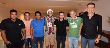 Ronaldinho dispara su optimismo en el Fluminense
