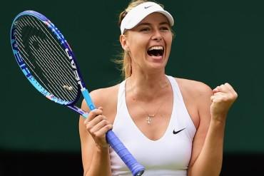 Sharapova regresó a las Semifinales de Wimbledon