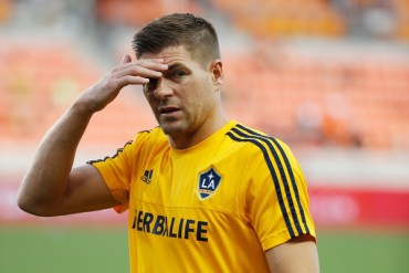 Steven Gerrard, baja del MLS All Star Game