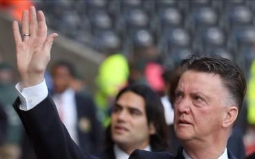 """Van Gaal: """"Respeto mucho a Messi. Además del talento que tiene es humilde"""""""