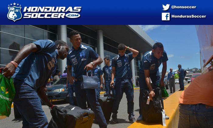 La Sub-23 de Honduras llegó al país y no tendran descanso