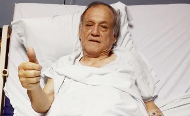 """Chelato Uclés"""" ya está en Costa Rica, donde será operado de urgencia"""